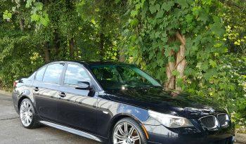 Carbon Black 2008 BMW 550i M-Sport // Black Leather // Loaded