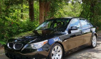 Black Sapphire Metallic 2006 BMW 530i // 122k / Cinnamon Interior