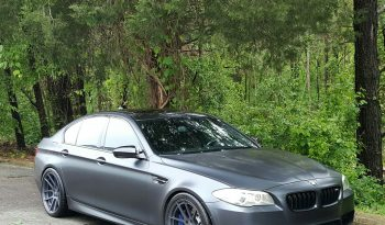 Singapore Gray 2013 BMW M5 // 83K // Twin Turbo V8 // Heads up Display